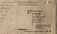 Direção Regional da Cultura recebe a 65.ª Edição dos Cadernos Gráficos dos Urban Sketchers