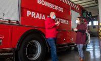 Reforço de direitos e benefícios sociais para os Bombeiros Voluntários da Praia da Vitória