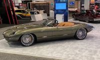 "1974 E-type Jaguar with supercharged LS engine - The ""Beast"" with elegance"
