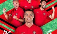 Seleção portuguesa é a quinta mais valiosa do Euro