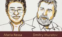 Prémio Nobel da Paz é atribuído a Maria Ressa e Dmitry Muratov