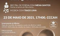 No Coração das Palavras – Mena Santos acompanhada por Tiago Lima