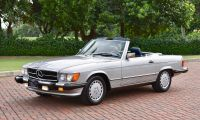 MERCEDES-BENZ 560SL - R107 and C107 - So beautiful