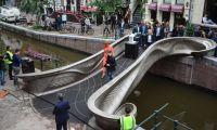 Primeira ponte impressa em 3D foi inaugurada em Amsterdão