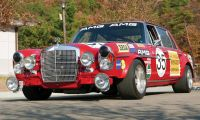 "1971 6.8 SEL ""Red Pig"" - Race, powerful, fast, effective"