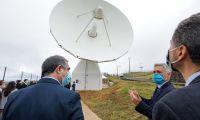 Presidente do Governo valoriza antena do teleporto de Santa Maria e oportunidades de futuro para a ilha
