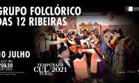 Atuação do Grupo Folclórico das Doze Ribeiras na RTP Açores