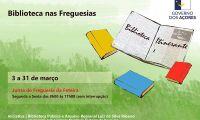 Biblioteca Itinerante na freguesia da Feteira, na ilha Terceira, em março