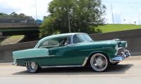 1955 Spearmint 1955 Chevy Bel Air - Great Chevy Look