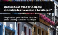 Municipio lança questionário à população para elaborar plano de apoio local à habitação