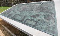 Carta de Linschoten em destaque no Jardim de Angra