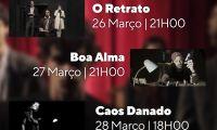 """""""O Retrato"""", """"Boa Alma"""" e """"Caos Danado"""" em exibição no Auditório do Ramo Grande no próximo fim-de-semana"""