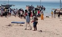 Desespero, abandono e incertezas marcam o dia-a-dia dos deslocados em Pemba