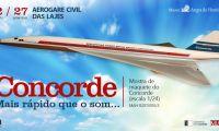 Museu de Angra do Heroísmo expõe réplica do Concorde na Aerogare Civil das Lajes