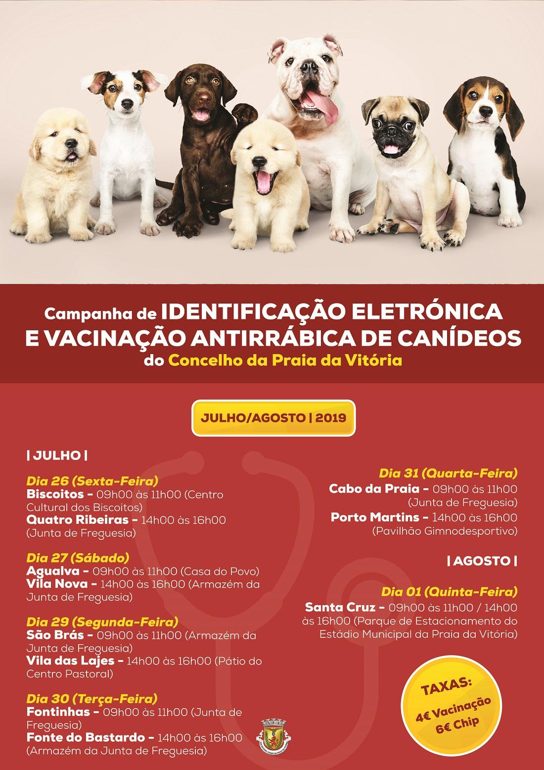 Município da Praia da Vitória promove campanha de vacinação