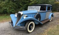1936 Ford Brewster Town Car - Another dimension for FORD in the 1930s