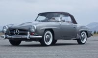 1961 Mercedes-Benz 190SL - always beautiful