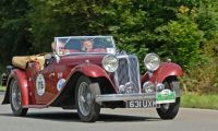1931-1936 Jaguar SS I - the beginning of a long and perfect path