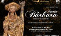 """Apresentação da peça """"Santa Bárbara"""", exemplar da Escultura de Malines"""