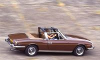 Triumph Stag - Familiar, sporty and beautiful