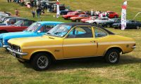 "Vauxhall Firenza - Got to ""command"" on the tracks"