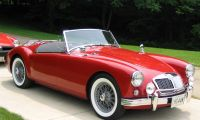 MG from 1955 to 1962 - Pure beauty
