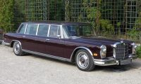 Mercedes 600 - Between 1963 and 1981 Luxury and quality were always present