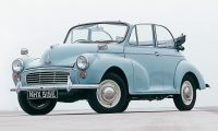 Morris Minor - one reference on the british and european roads