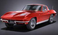 Chevrolet corvette c2 - It is very beautiful, isn't it?