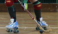 Seleção portuguesa feminina de hóquei em patins goleia Inglaterra no Europeu